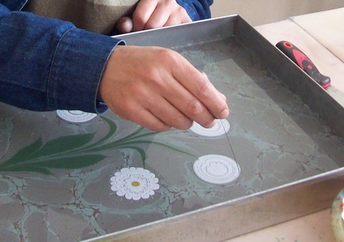 Рисунки по воде в домашних условиях